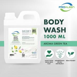 Sabun Mandi BODY WASH GREEN TEA PREMIUM PROKLEEN 1000ml