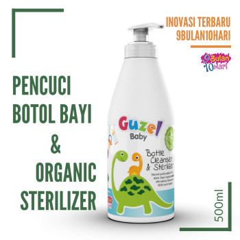 GUZEL Baby Bottle Cleanser & Sterilizer