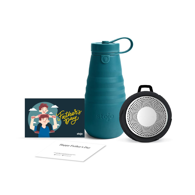 [Best Dad] Lagoon 20oz + Tyre Bluetooth Speaker + Gift Card