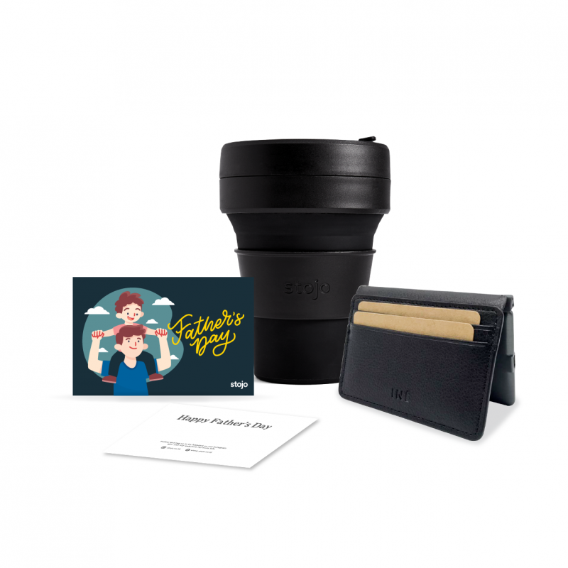 [Hero Dad] Ink 12oz + Wallet w/ a built in Power Bank + Gift Card