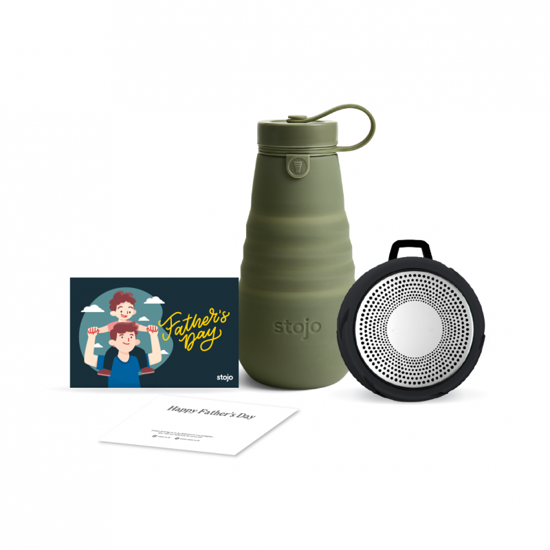 [Best Dad] Moss 20oz + Tyre Bluetooth Speaker + Gift Card