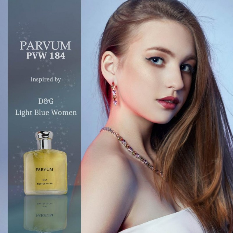 PARVUM Inspired By D&G Light Blue Women