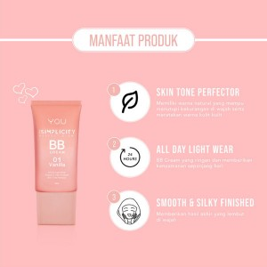 The Simplicity Perfect Glow BB Cream - Hara & Co