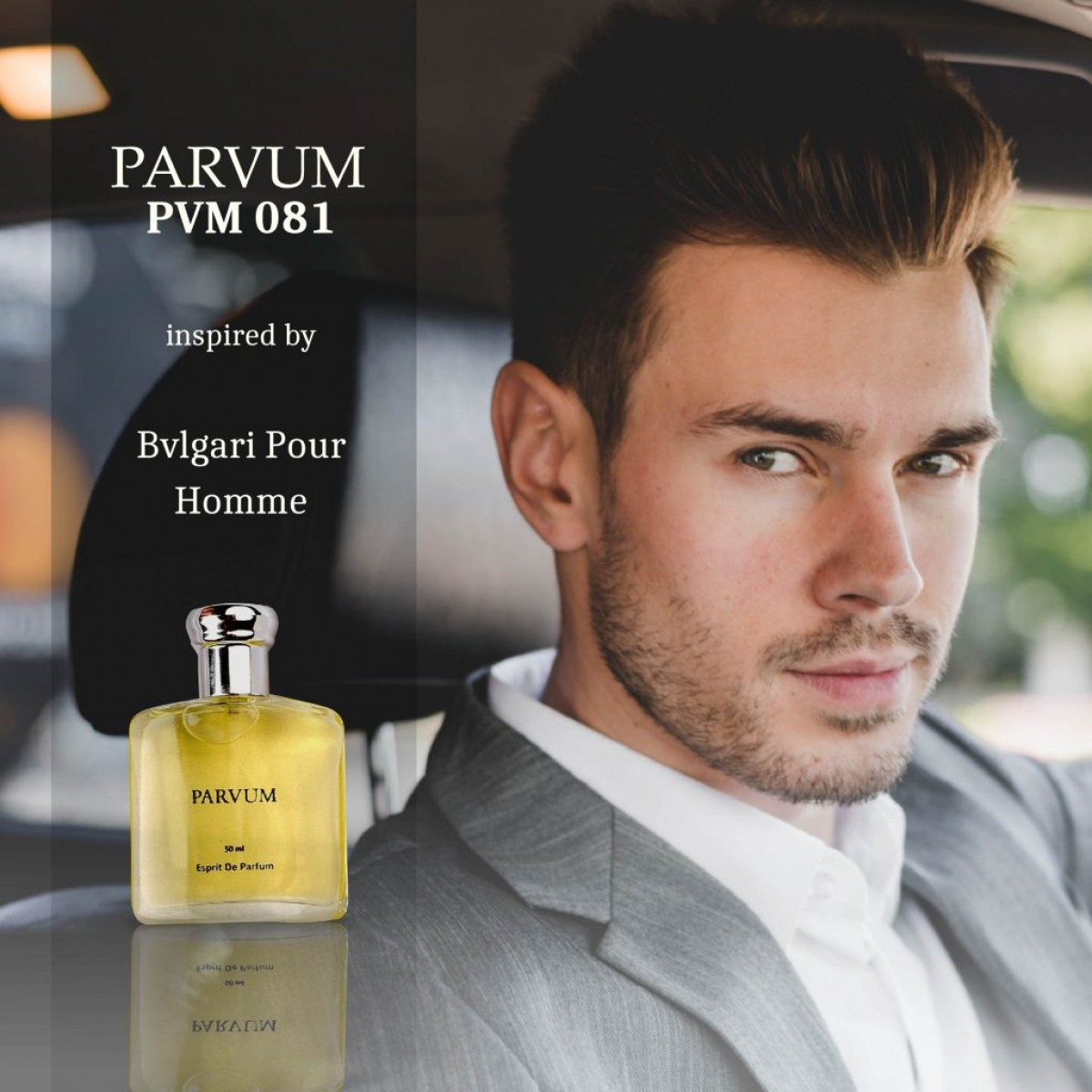 PARVUM Inspired By Bvlgari Pour Homme - Hara & Co