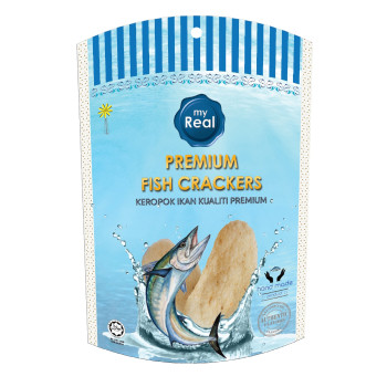 50g myReal Premium Fish Crackers