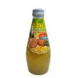 BASIL SEED DRINK - PINEAPPLE 290ML - Kanpeki