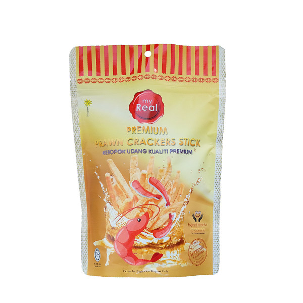 50g myReal Premium Prawn Crackers Stick - Kanpeki