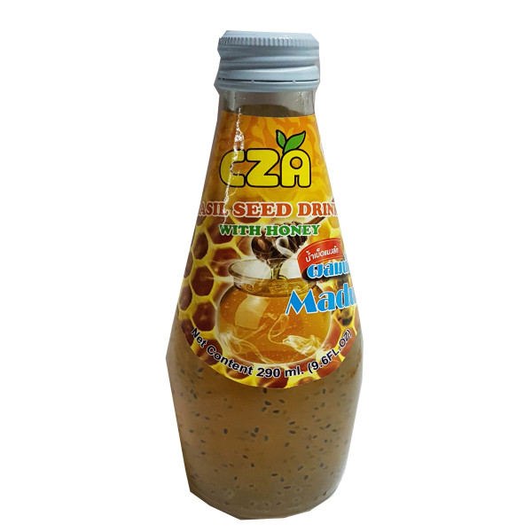 BASIL SEED DRINK - HONEY 290ML - Kanpeki