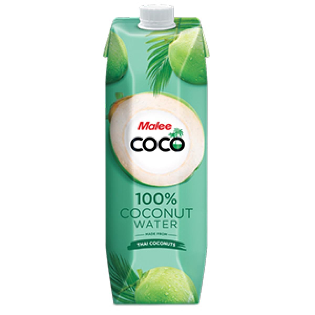 MALEE COCO 100% COCONUT WATER 1L - Kanpeki
