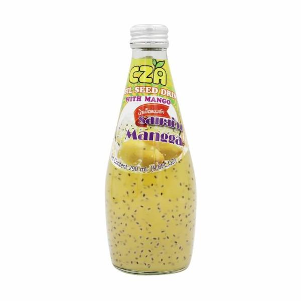 BASIL SEED DRINK - MANGO 290ML - Kanpeki