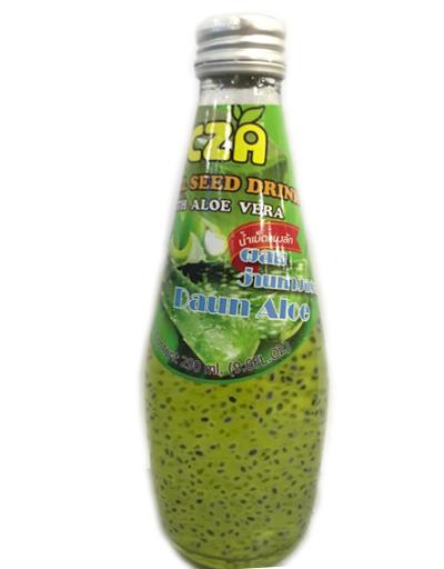 BASIL SEED DRINK - ALOE VERA 290ML - Kanpeki