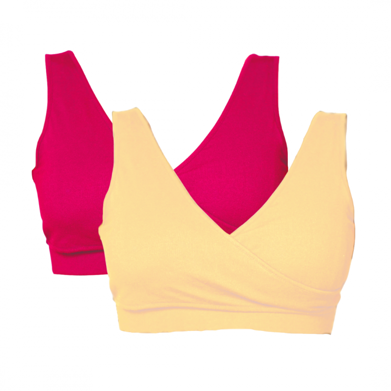 Real-Support Bra Pink-Nude Duo Bundle