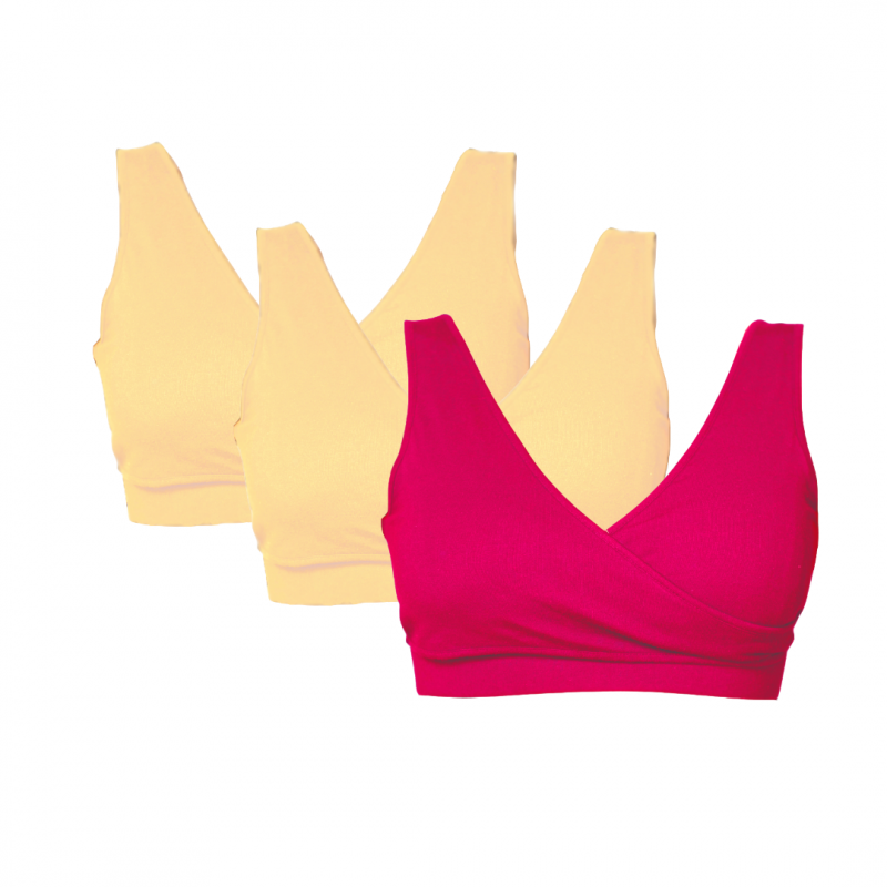 Real-Support Bra Nude-Pink Trio Bundle