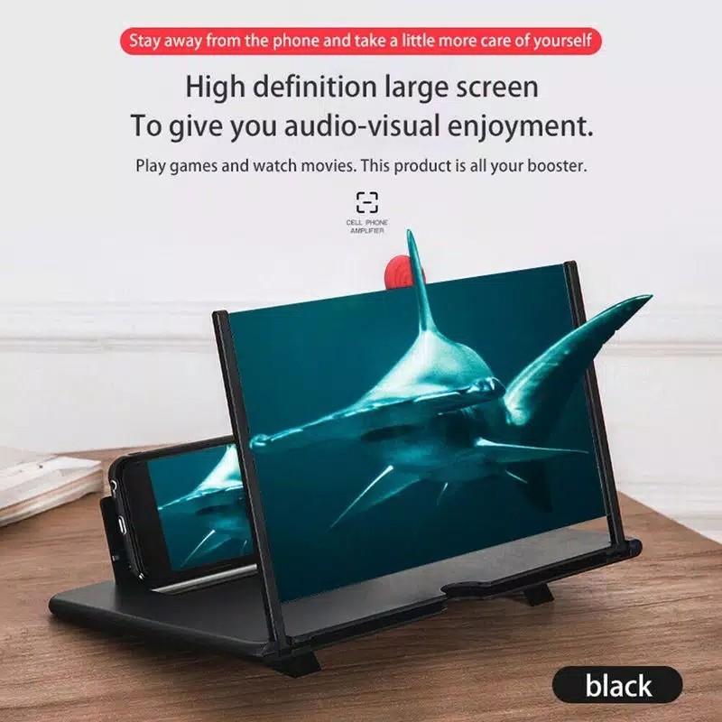 Kaca Pembesar Layar Hp Universal 3D