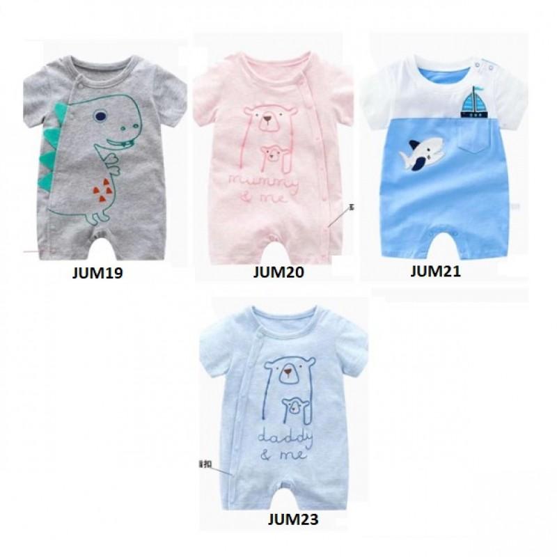 jum19-23 Jumper bayi-Romper bayi-jumpsuit bayi setelan anak modis