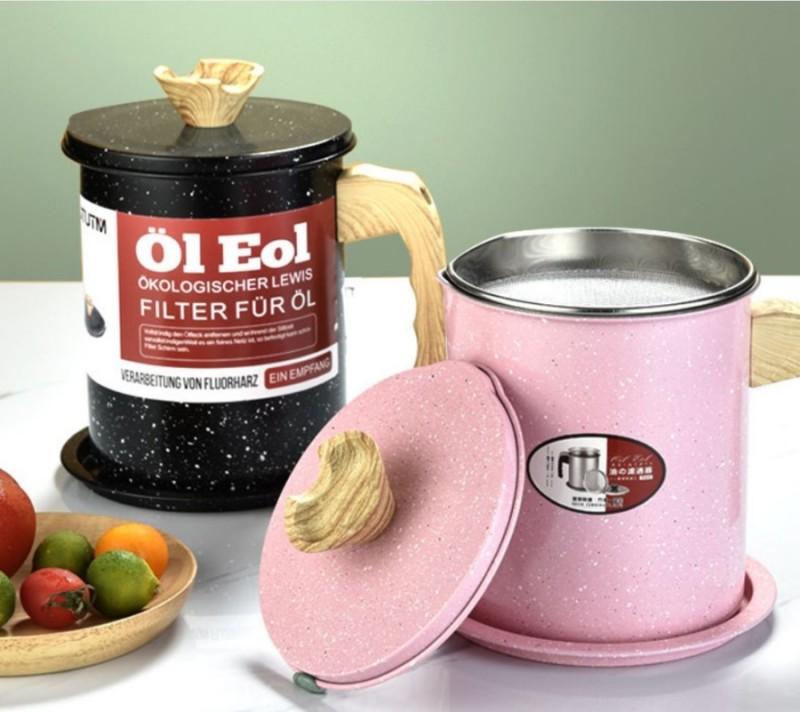 Kitchen Filter Oil Can Storage