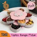 Toples Bunga Putar Wadah Kue Candy Box 2 - Bunda Ina Shop