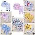 Piyama Set Premium 1-5 tahun Baju Bayi untuk Laki dan Perempuan - Bunda Ina Shop