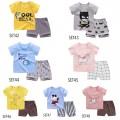 Setelan Anak Kaos 1-5 tahun lengan pendek celana pendek - Bunda Ina Shop