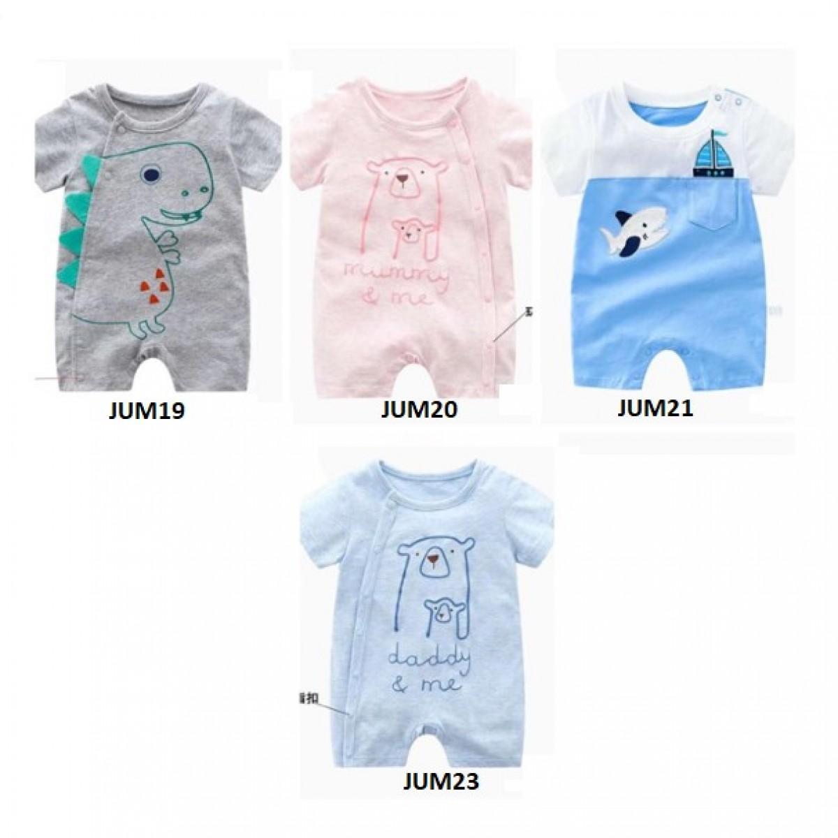 jum19-23 Jumper bayi-Romper bayi-jumpsuit bayi setelan anak modis - Bunda Ina Shop