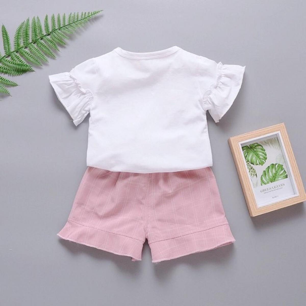 Setelan Anak Cewe Korea Cantik 1 - Bunda Ina Shop