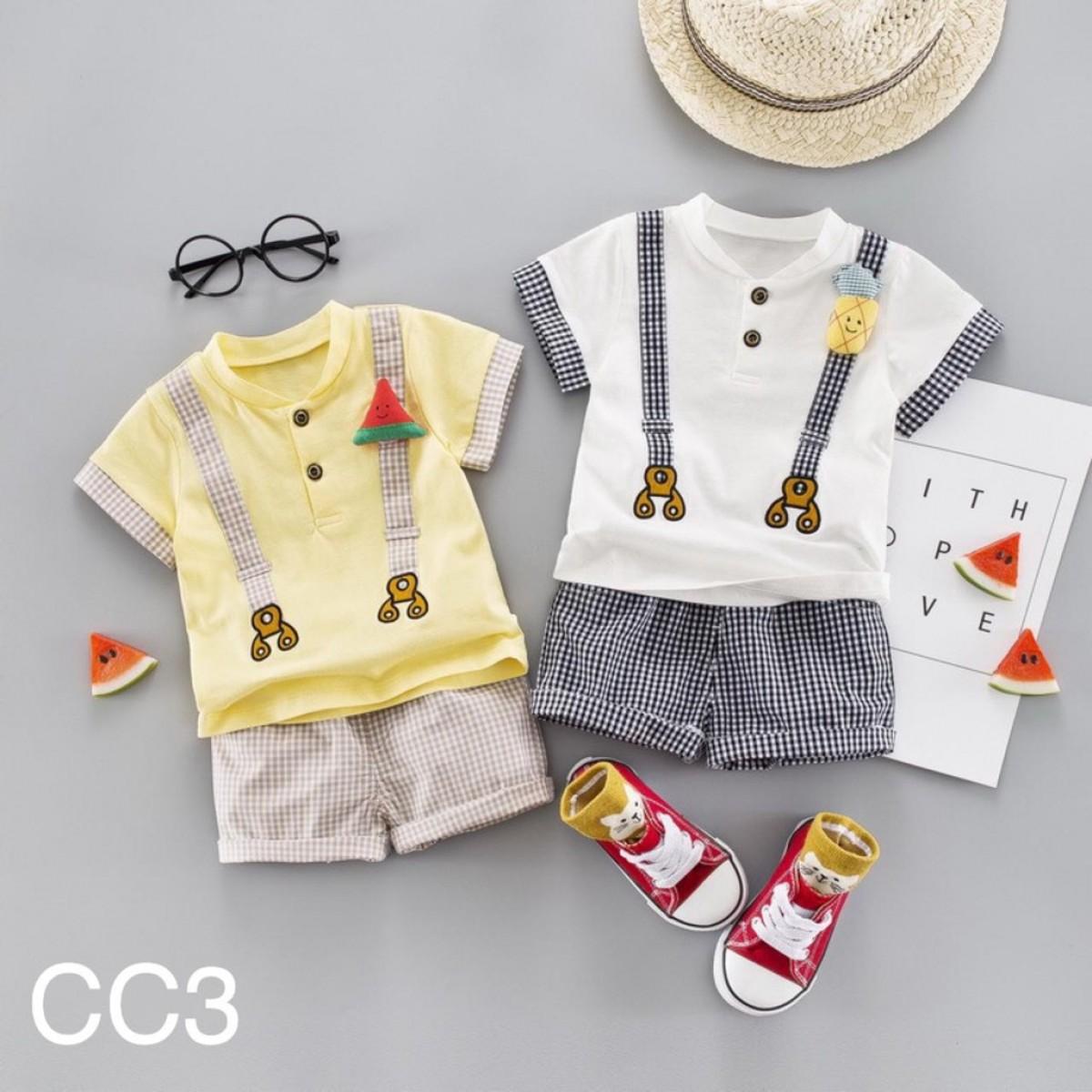 CC3 Setelan Anak Laki-laki 1-3 tahun - Bunda Ina Shop