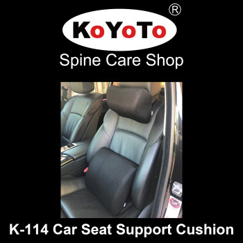KOYOTO K-114 Memory Foam Car Seat Support Cushion
