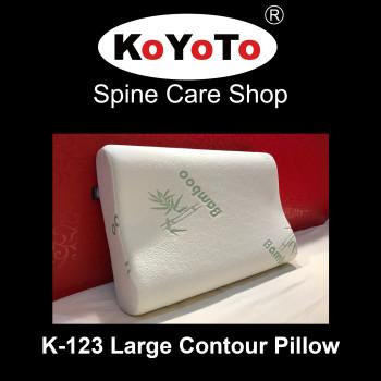 KOYOTO K-123 Memory Foam Large Size Contour Pillow