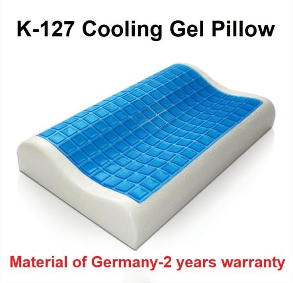 K-127 Memory Foam Cooling Gel Wave Shape Pillow - KOYOTO (Malaysia) Sdn.Bhd.