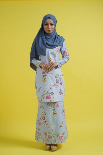 Jasmine Kurung (Soft Blue)