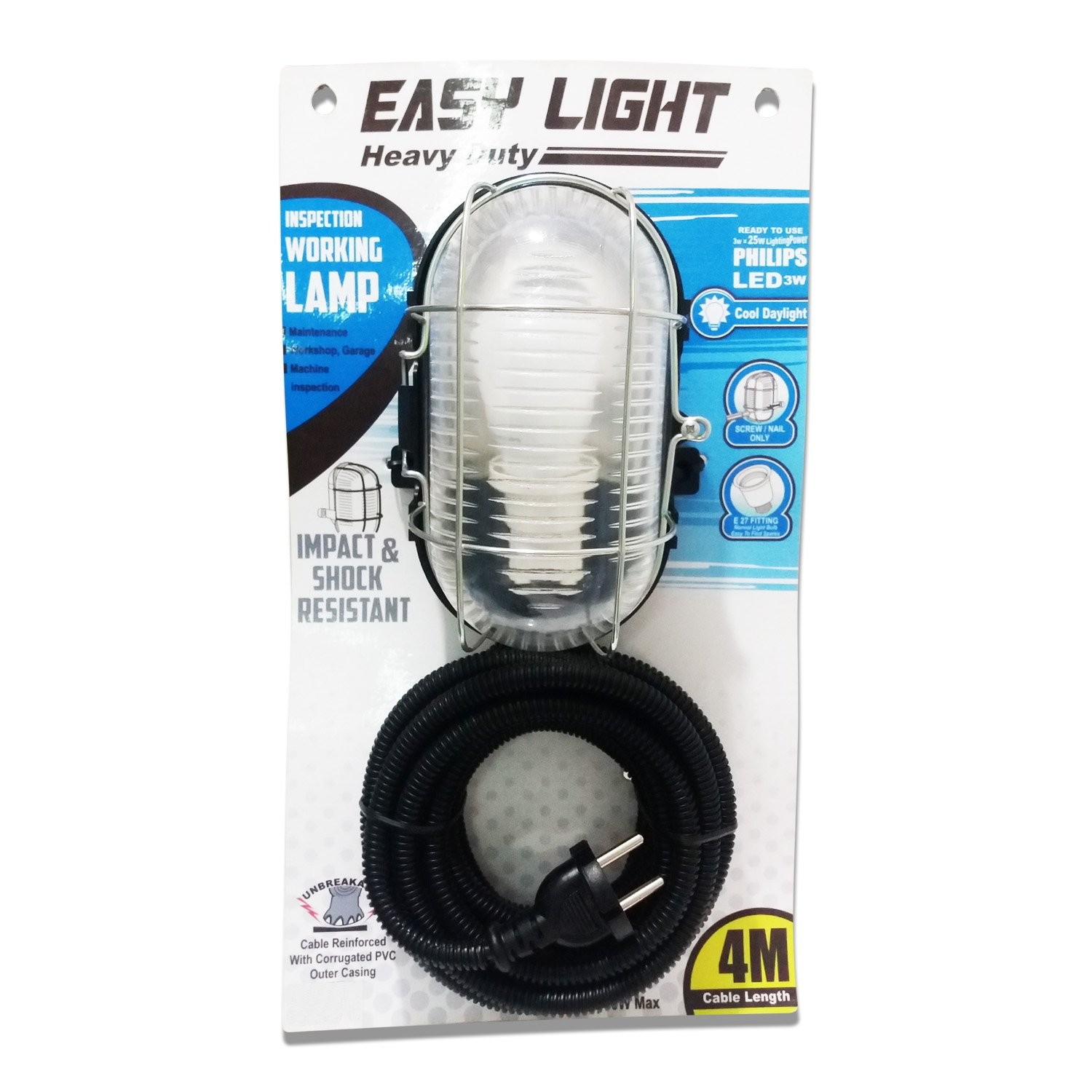 Lampu Siap Pakai LED PHILIPS Easy Light Heavy Duty WorkLamp