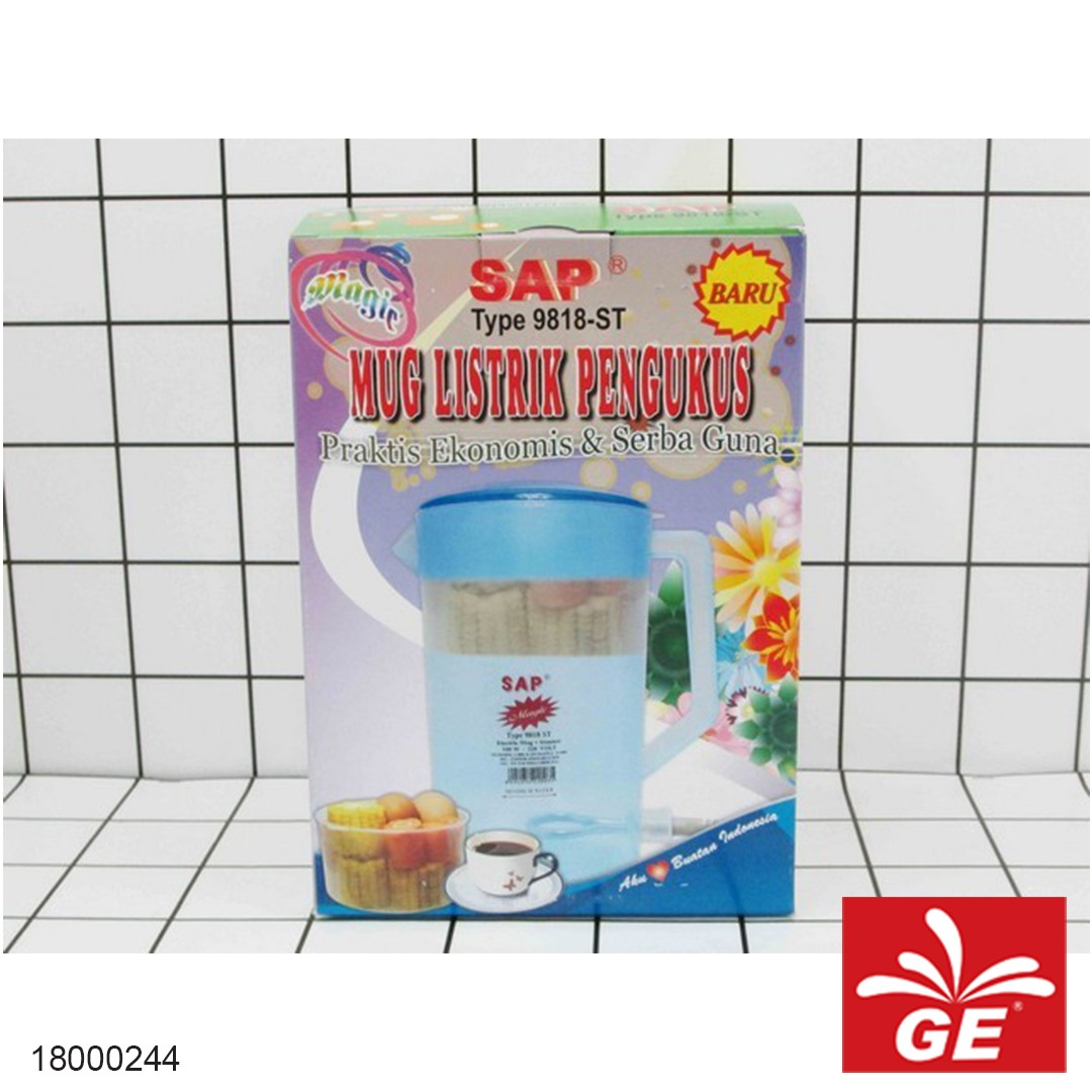 Electric Kettle SAP-9818ST 18000244