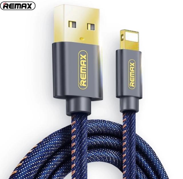 Kabel Data REMAX COWBOY RC-096i Lightning 1.8M Biru 40001161