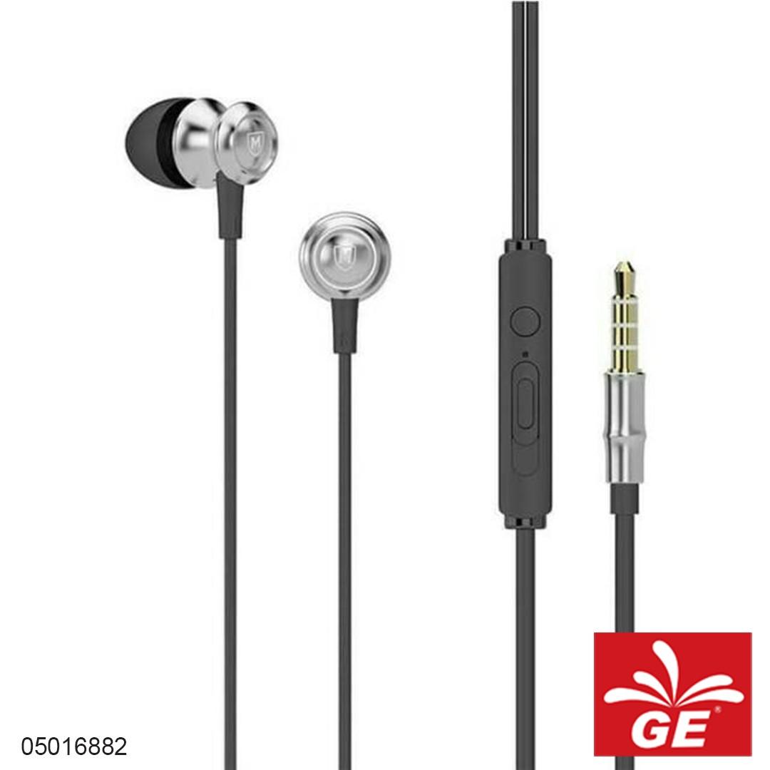 Earphone MICROPACK EM-220Abu-abu 05016882