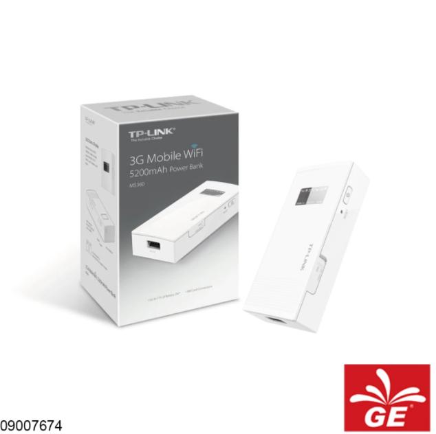 Wi-Fi Modem TP-LINK M5360 3G Mobile Wi-Fi 5200mAh Power Bank