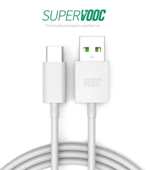 Kabel Data OPPO Flash Data Line VOOC Type-C 1M Putih 40001036