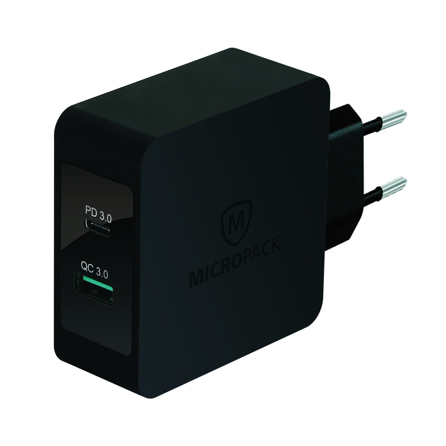 Adaptor MICROPACK MWC-248 PD Smart Wall Charger 48W Hitam