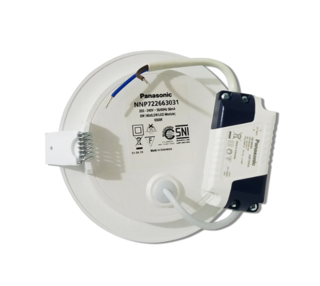 Lampu Downlight LED PANASONIC NNP 722663031 Cool Daylight 8W