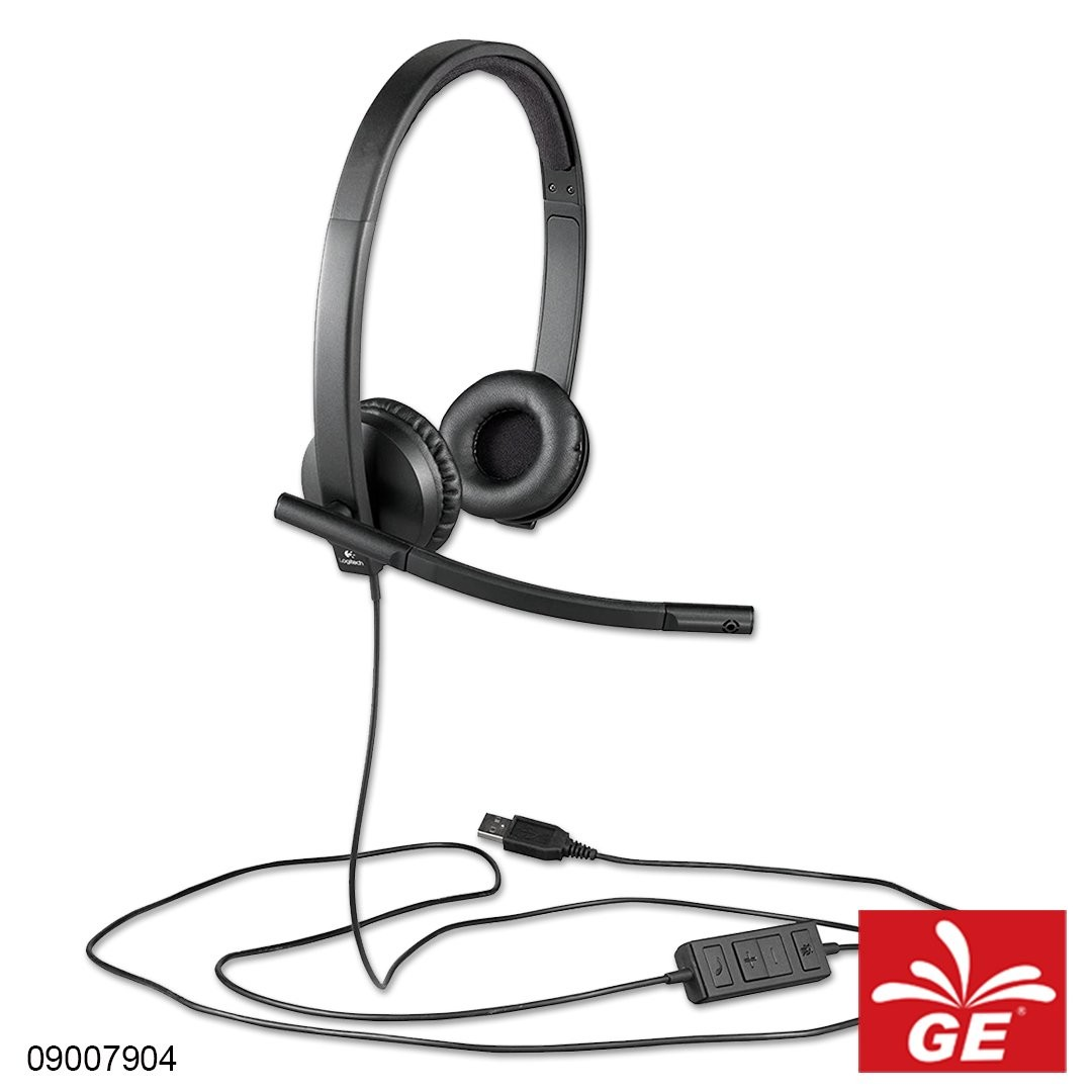 Headset Stereo USB LOGITECH H570E 09007904