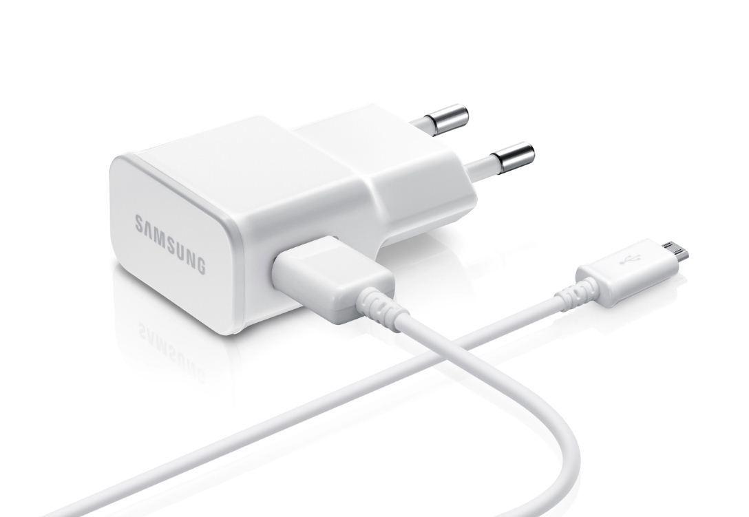 Kabel Data SAMSUNG Travel Adapter Chargeur Secteur Micro 1M Putih