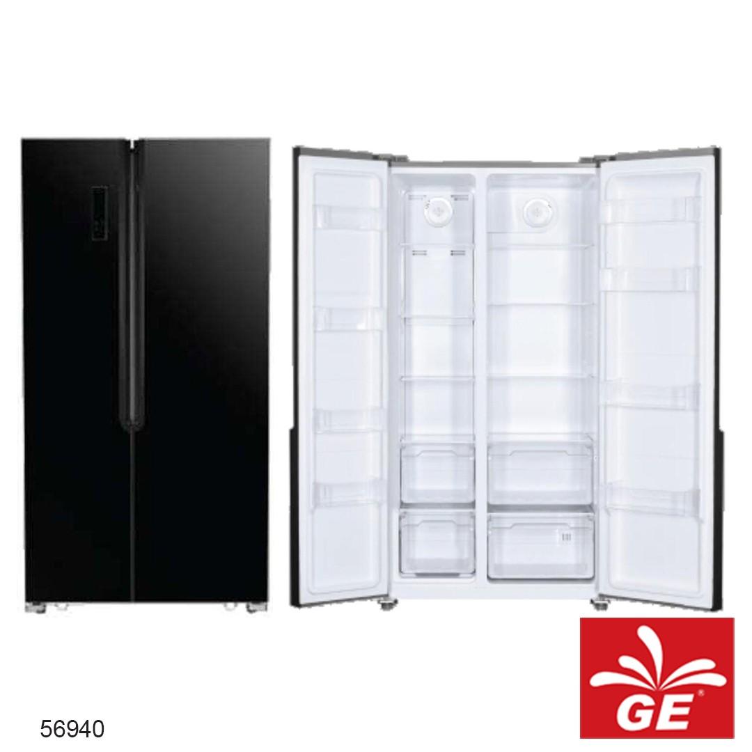 Lemari Es Kulkas GEA G2D-563 INOX 2Pintu By Side 56940