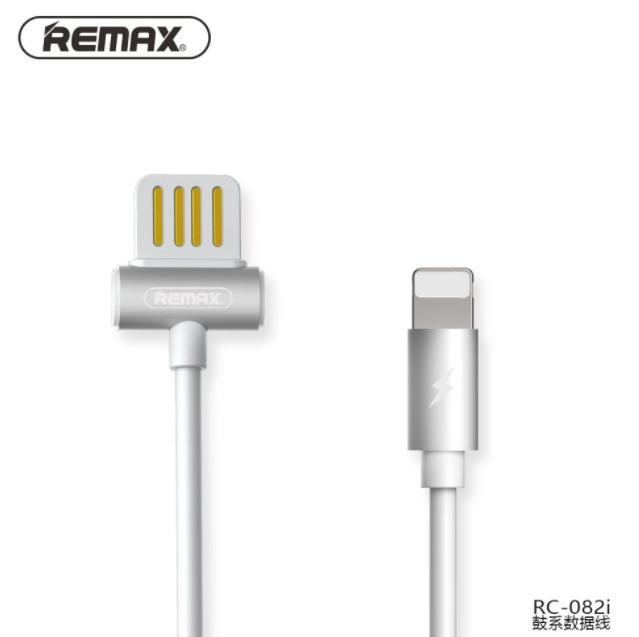 Kabel Data REMAX WAIST DRUM RC-082i Lightning 1M Putih 40000857