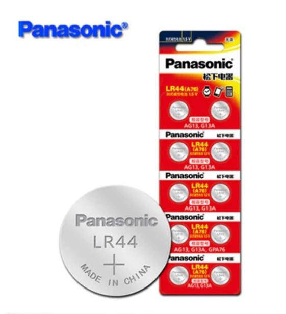 Baterai Coin PANASONIC LR44 (A76) AG13 1 Pack 02019582