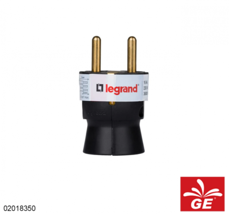 Steker LEGRAND 050177 Plugp SCH Straight 02018350