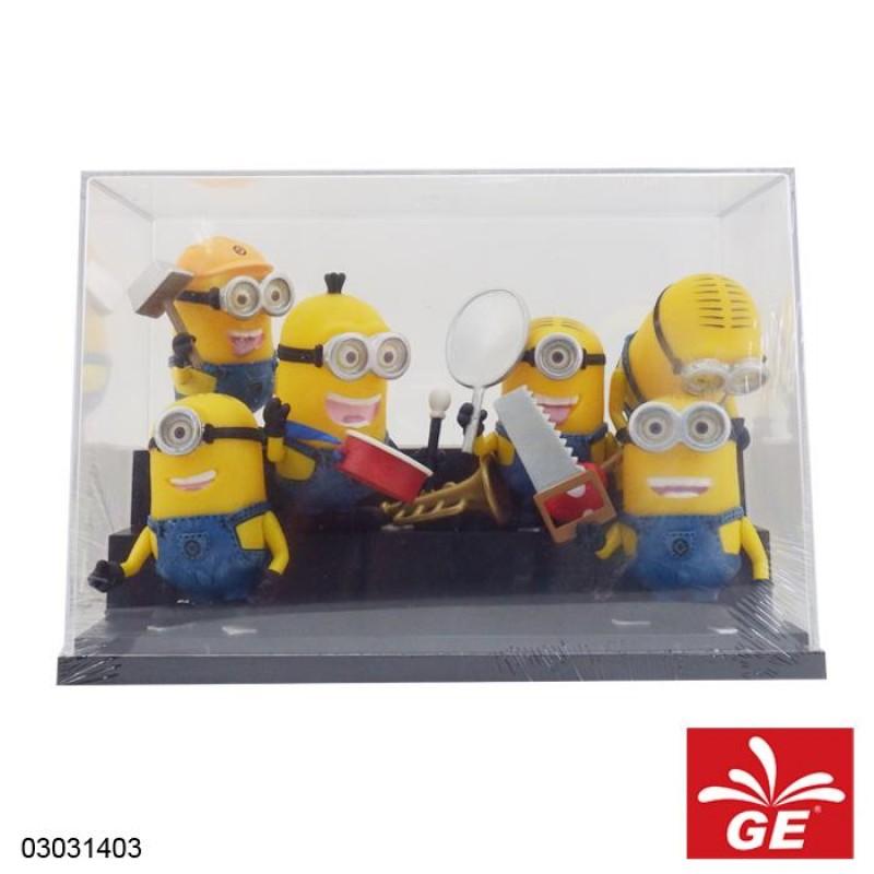 Mainan Koleksi Minion 6 Pcs 03031403