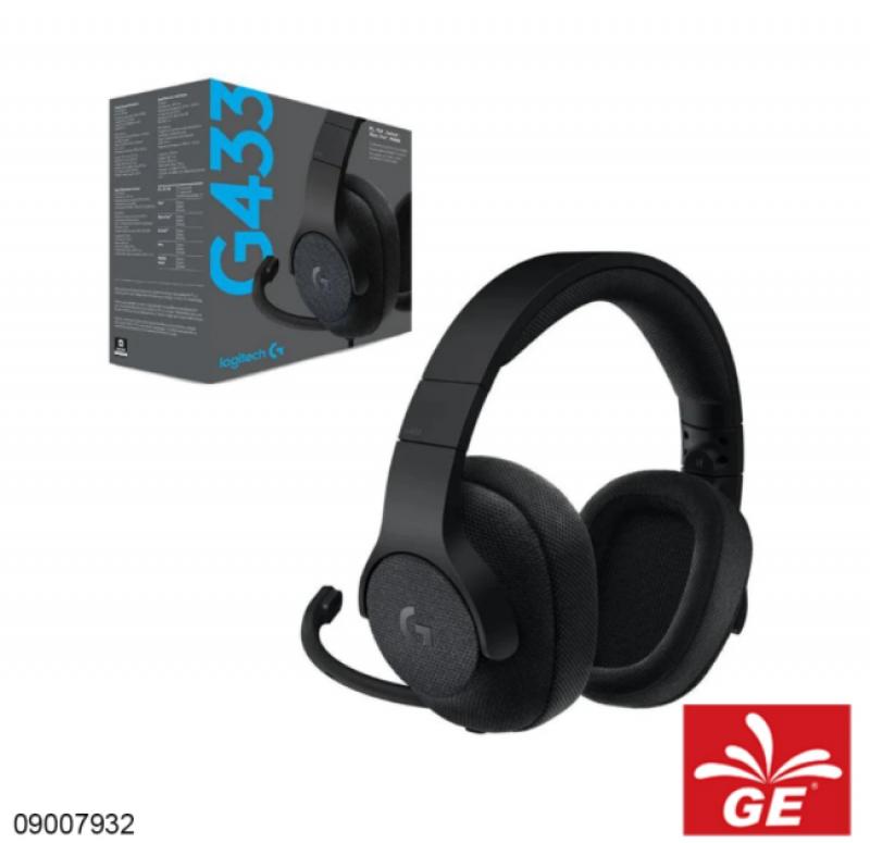 Headset LOGITECH G433 7.1 Surround Gaming Headset 09007932