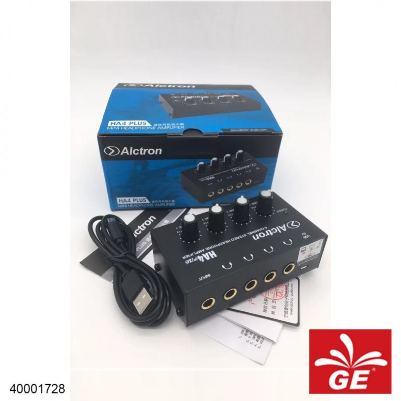 Amplifier ALCTRON HA4 PLUS Mini Headphone Amplifier 40001728