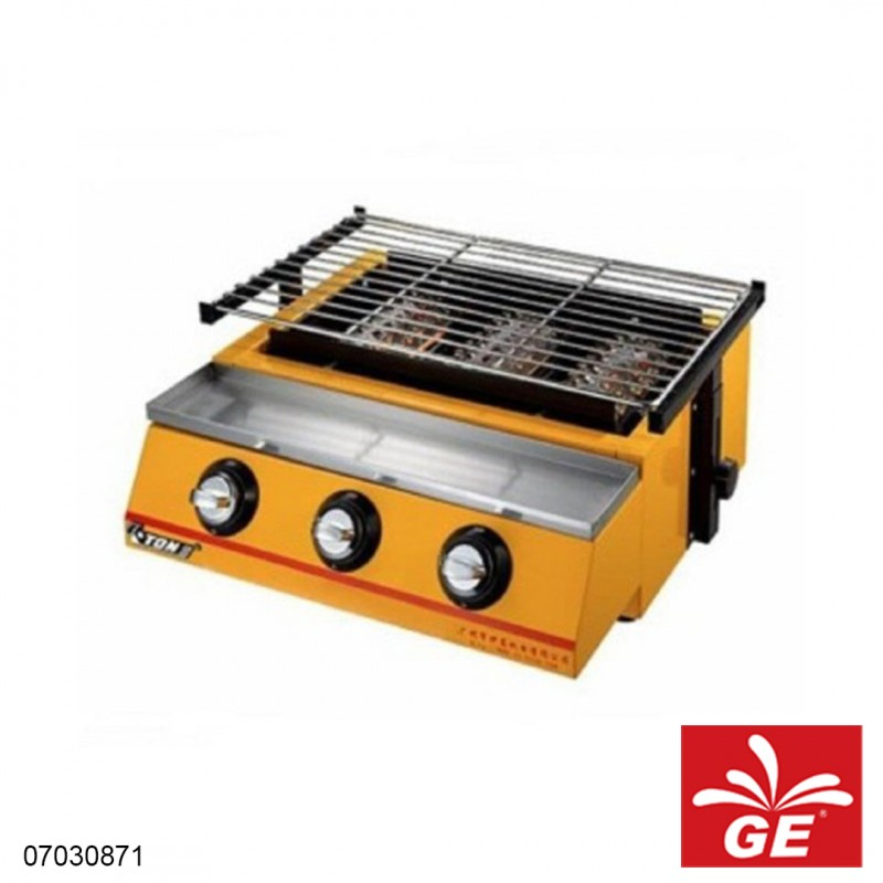 Kompor Gas Sosis VICTON ET-K122 3 Knop 07030871