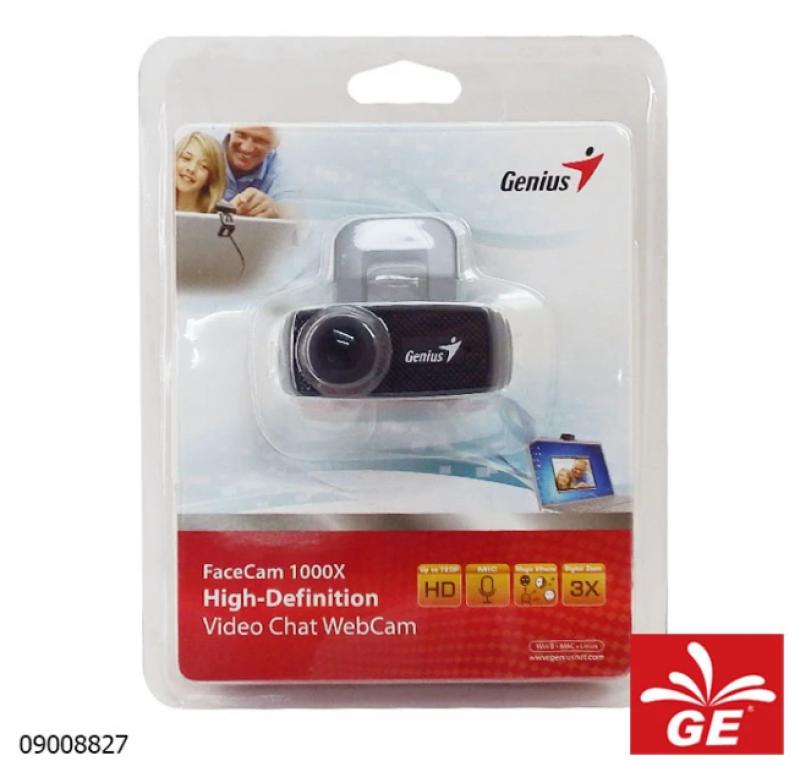 FACECAM GENIUS 1000X V2 720p HD WEBCAM 09008827