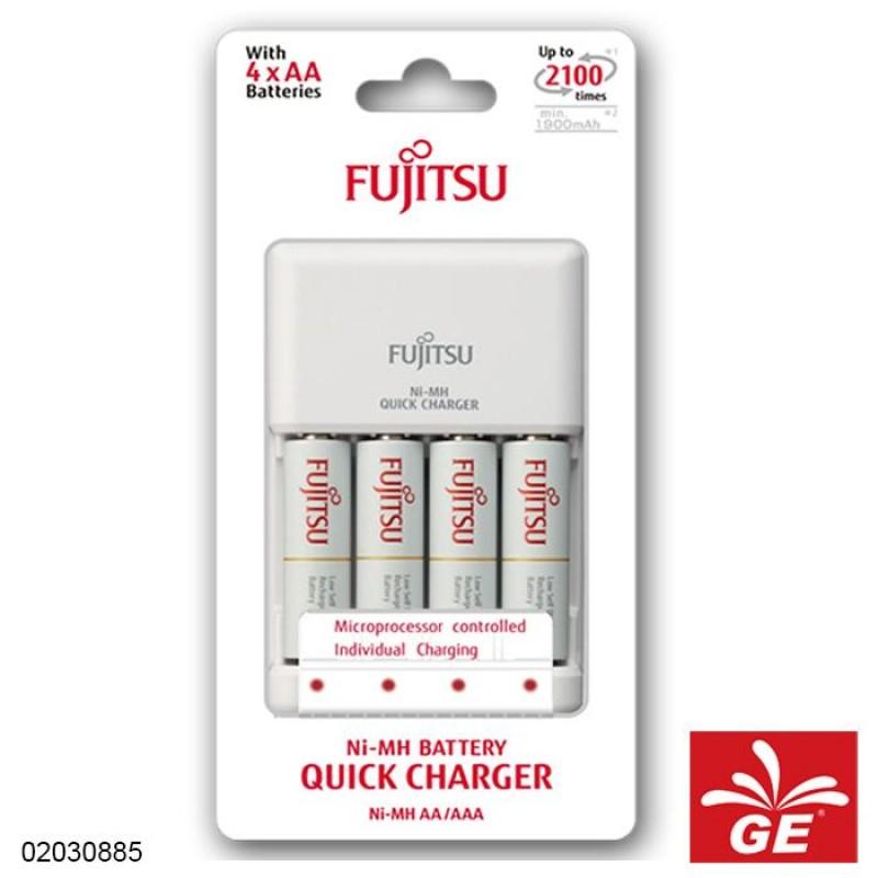 CHARGER FUJITSU BATERAI 4X AA 1900MH 2 JAM 02030885